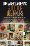 Container Gardening for Beginners Pdf/ePub eBook