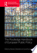 The Routledge Handbook Of European Public Policy