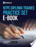 Ntpc Diploma Trainee Guide 2021 Download 120 Questions In Pdf