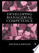 Developing Managerial Competence