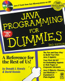 List of Dummies Java Programming E-book