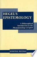 Hegel S Epistemology