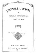 Pdf Chamber's Journal of Popular Literature, Science and Arts
