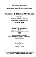 The Bed   Breakfast Guide for the United States  Canada  Bermuda  Puerto Rico   the U S V I