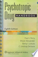 Psychotropic Drug Handbook Book