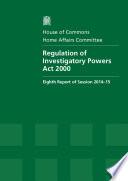 HC 711   Regulation of Investigatory Powers Act 2000