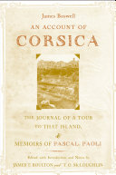 Pdf An Account of Corsica, the Journal of a Tour to That Island; and Memoirs of Pascal Paoli
