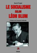 Pdf Le socialisme selon Léon Blum Telecharger