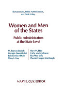 Women and Men of the States  Public Administrators and the State Level