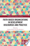 Faith Based Organizations In Development Discourses And Practice