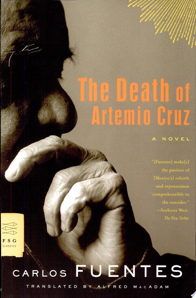 The Death of Artemio Cruz banner backdrop