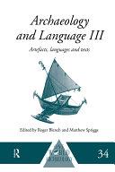 Pdf Archaeology and Language III Telecharger