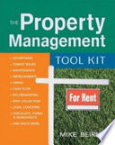 """""""The Property Management Tool Kit"""" by Mike Beirne"""