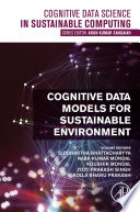 Cognitive Data Models for Sustainable Environment