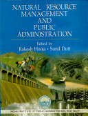 Natural Resource Management and Public Administration Book