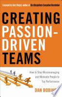 Creating Passion Driven Teams Book PDF