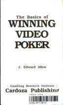 The Basics of Winning Video Poker Book PDF