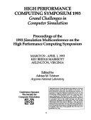 High Performance Computing Symposium 1993