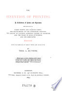 The Invention Of Printing Book PDF