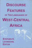 Discourse Features of Ten Languages of West Central Africa
