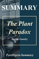 The Plant Paradox Summary Book PDF