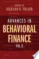 Advances in Behavioral Finance Book