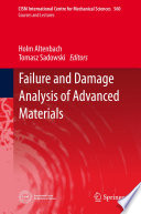 Failure and Damage Analysis of Advanced Materials Book