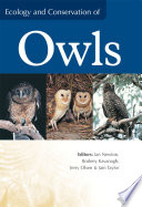 Ecology and Conservation of Owls Book