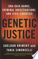 Genetic Justice Book
