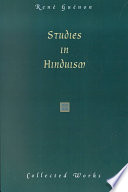 Studies in Hinduism