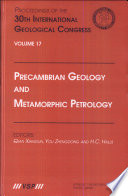 Precambrian Geology and Metamorphic Petrology
