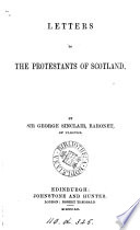 Letters to the Protestants of Scotland