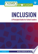 Inclusion  A Principled Guide for School Leaders