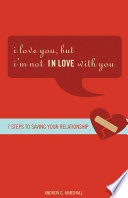 I Love You  but I m Not IN Love with You Book