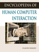 Encyclopedia of Human Computer Interaction