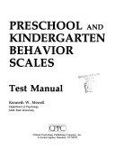 Preschool and Kindergarten Behavior Scales