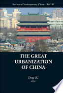The Great Urbanization Of China