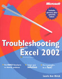 Troubleshooting Microsoft Excel 2002