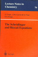 The Schr Dinger And Riccati Equations Book PDF