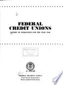 Federal Credit Unions Book