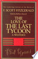 Fitzgerald  The Love of the Last Tycoon