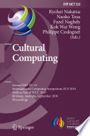 Cultural Computing Book