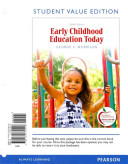 Early Childhood Education Today, Student Value Edition