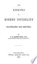 The Errors of Modern Infidelity