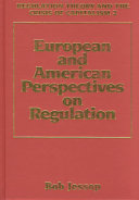 Regulation Theory and the Crisis of Capitalism  European and American perspectives on regulation