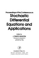 Proceedings Of The Conference On Stochastic Differential Equations And Applications Book PDF