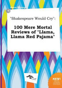 Shakespeare Would Cry Book