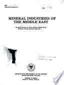 Mineral Industries of the Middle East