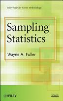 Cover of Sampling Statistics