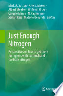 Just Enough Nitrogen